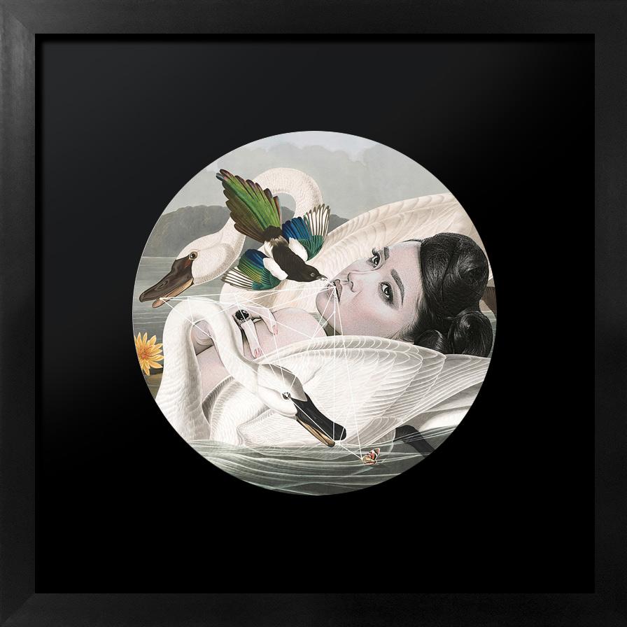 Melancholy Paradise   Framed fine art giclée print. Dimensions: 28.5 cm x 28.5 cm  £150.00