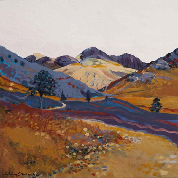From Blea Tarn   Mounted fine art giclée print.  Image Size: 29 cm x 29 cm  With Mount: 41 cm (w) x 42.5 cm (h)  £85.00