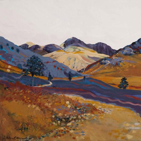 From Blea Tarn   Mounted fine art giclée print.  Image Size: 29 cm x 29 cm  With Mount: 41 cm (w) x 42.5 cm (h)  £85.00