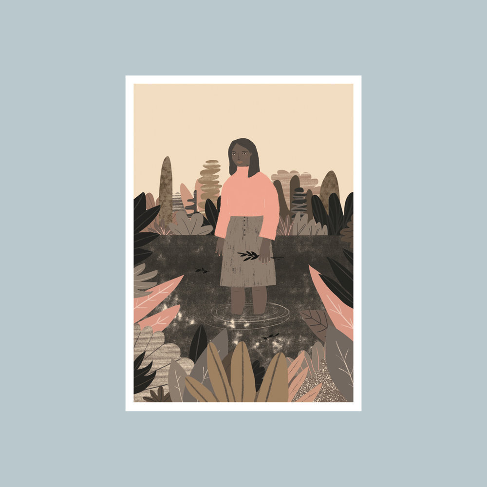 Hattie Maud   Using both simplistic forms in complementary colours and more detailed illustration, Hattie's work is beautifully fresh with a very contemporary feel.