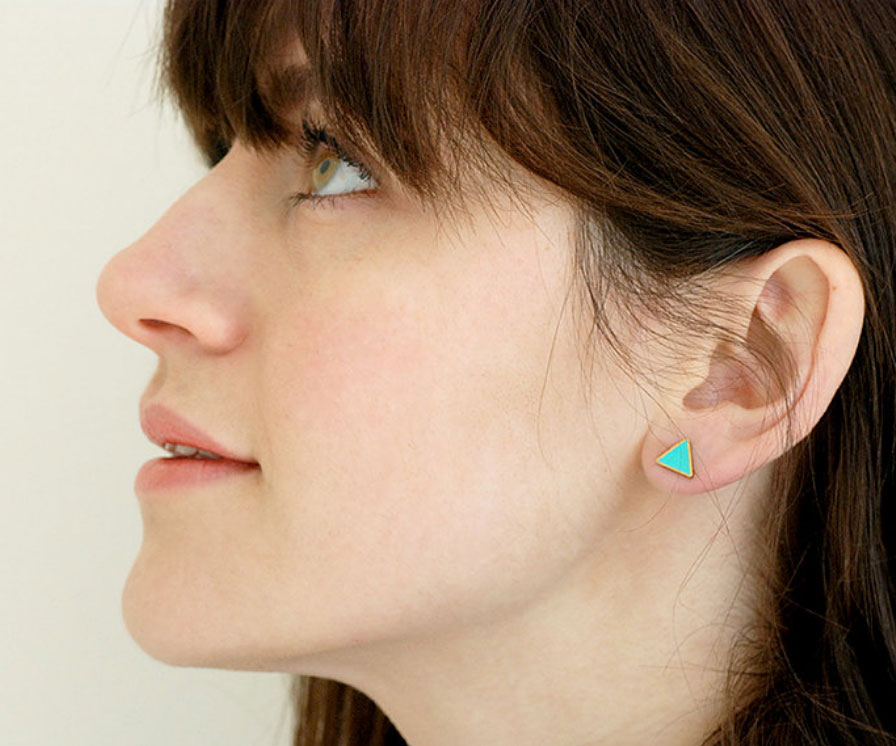 Turquoise-and-Gold-Triangle-stud-earrings_01.jpg