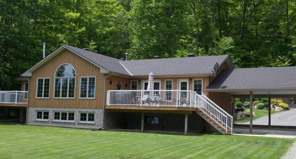 Bancroft Barry's Bay Roofing Solutions specializes in traditional and metal roofing systems.