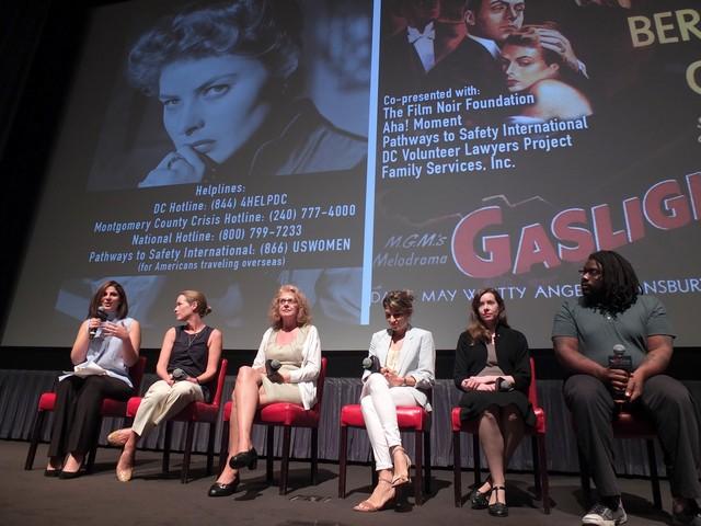 (L to R): Nadia Hashimi, Kathleen Buhle Biden, Paula Lucas, Gabriela Romo, Imogen Sara Smith, Dominic Goodall. Photo (c)Bruce Guthrie