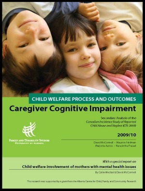 - Child Welfare Process and Outcomes for Children of Parents with Cognitive Impairment I (2010)