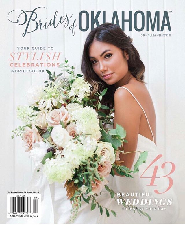 Still #swooning over the @bridesofok magazine. Brides this is a great tool to help find great vendors & inspiration for your wedding. Excited to be among many great talents in this magazine. It's been lots of sweat, tears and absolutely spilled blood from rose thorns over the years but to have my work in this magazine feels pretty good! ⠀⠀⠀⠀⠀⠀⠀⠀⠀ #bride  #wedding #weddingbells #weddingday #centerpieces #bridesmaids #bridesofok #weddingwire #married #ring #oklahoma #mcalester #bloomhouse #greenery #smpweddings #southernbridemagazine
