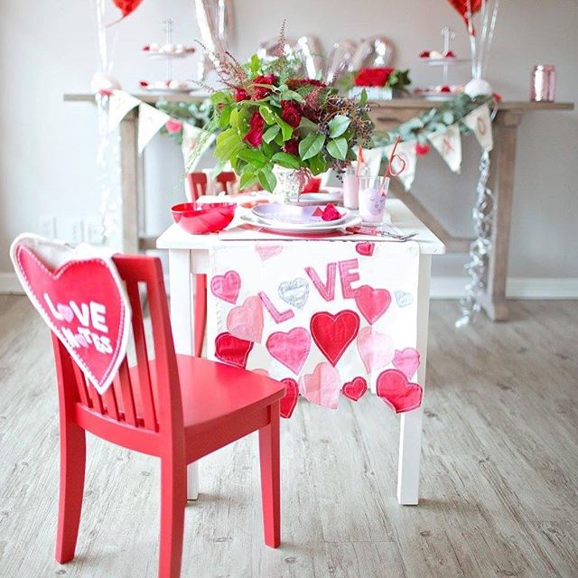 Happy Valentines Day! Got all my orders out the door, vday cookies baked! And now just enjoying my baby girl and dinner date with the hubs tonight!  Photo: @meaganready  Decor: @potterybarn_uticasquare
