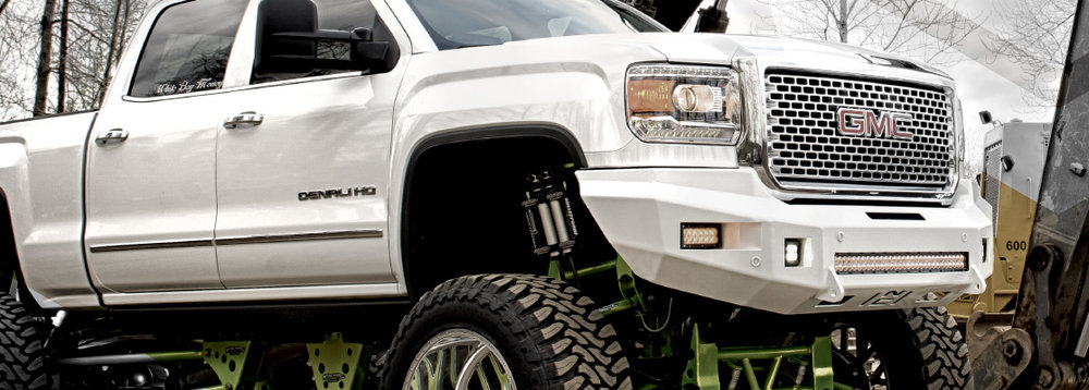 2015 GMC 2500-3500  Beauty Bumper