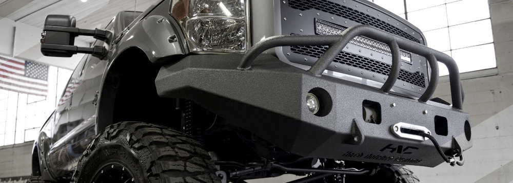 2015 Ford Super Duty  Pre-runner Bumper