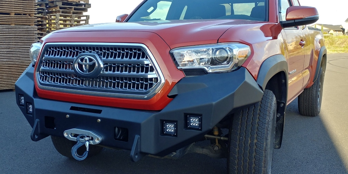 Toyota Hard Notched Customs Customized Bumpers And Headache Racks