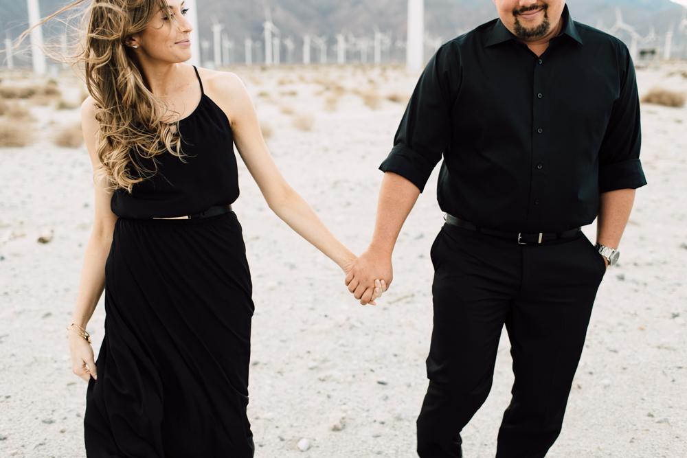 Sarah + Jonathan | Palm Springs Engagement | www.plumandoakphoto.com