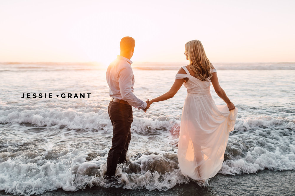 BLACKS BEACH ENGAGEMENT