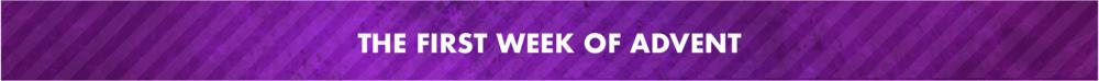 Week #1 Banner