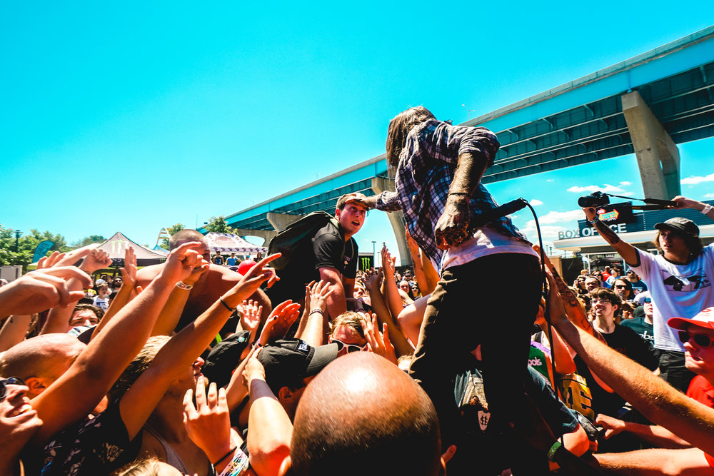 Every Time I Die - Warped Tour 2016