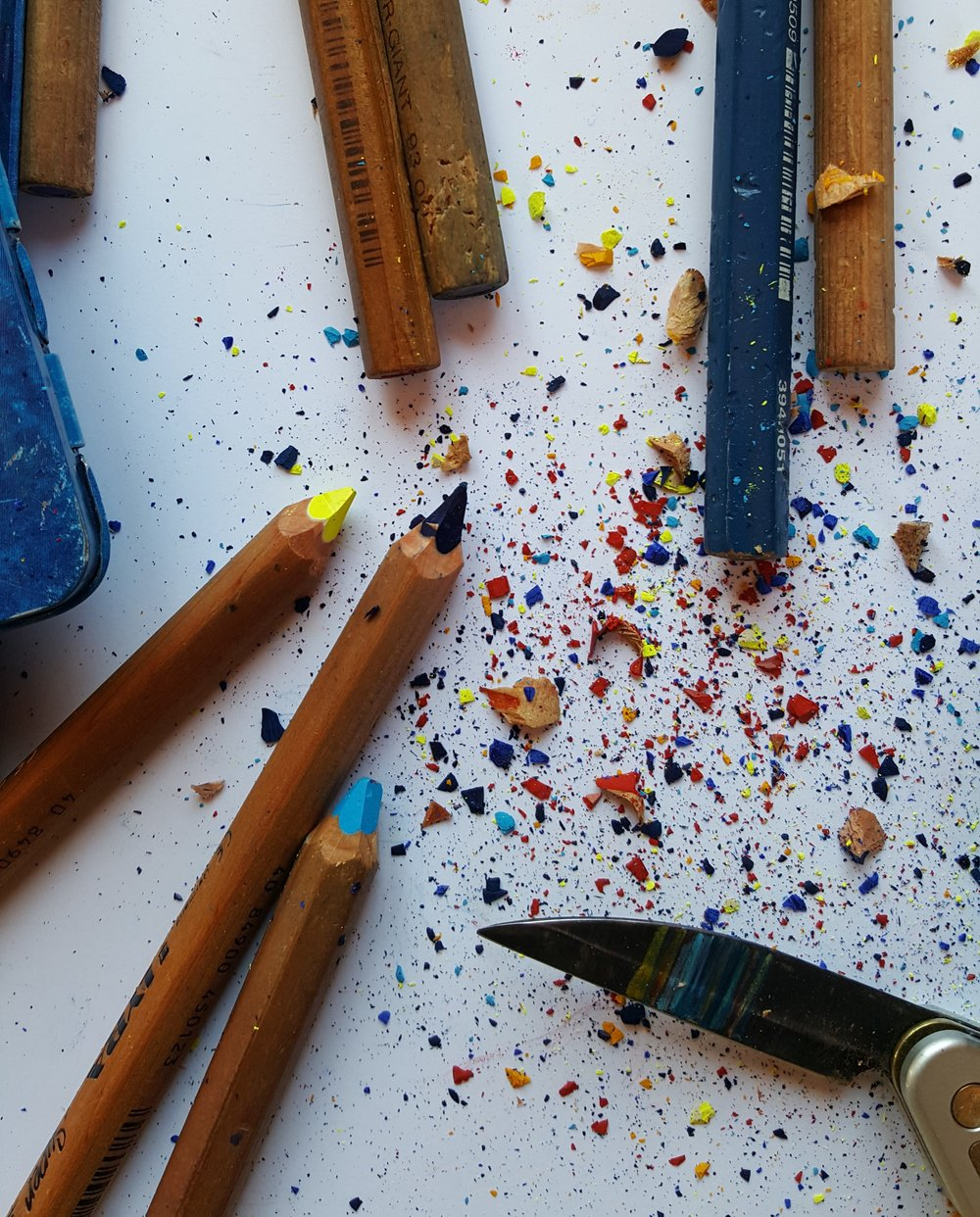 We sometimes lack for pencil sharpeners though.