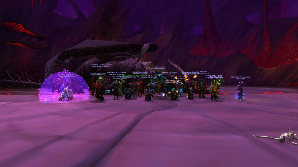 Mythic Nythendra Killed Server First!
