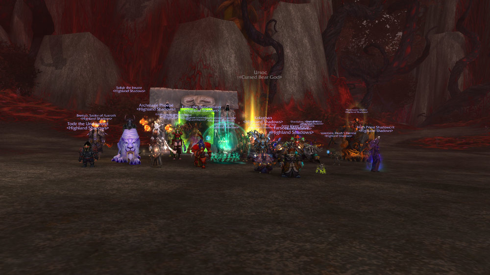 Mythic Ursoc Killed!!