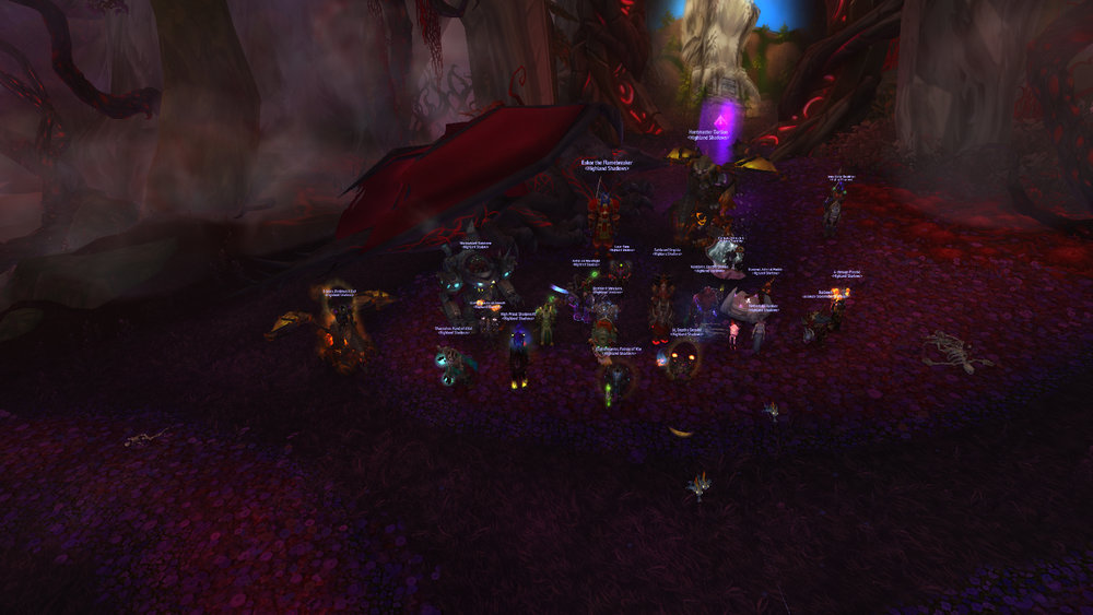 Mythic Dragons of Nightmare killed!