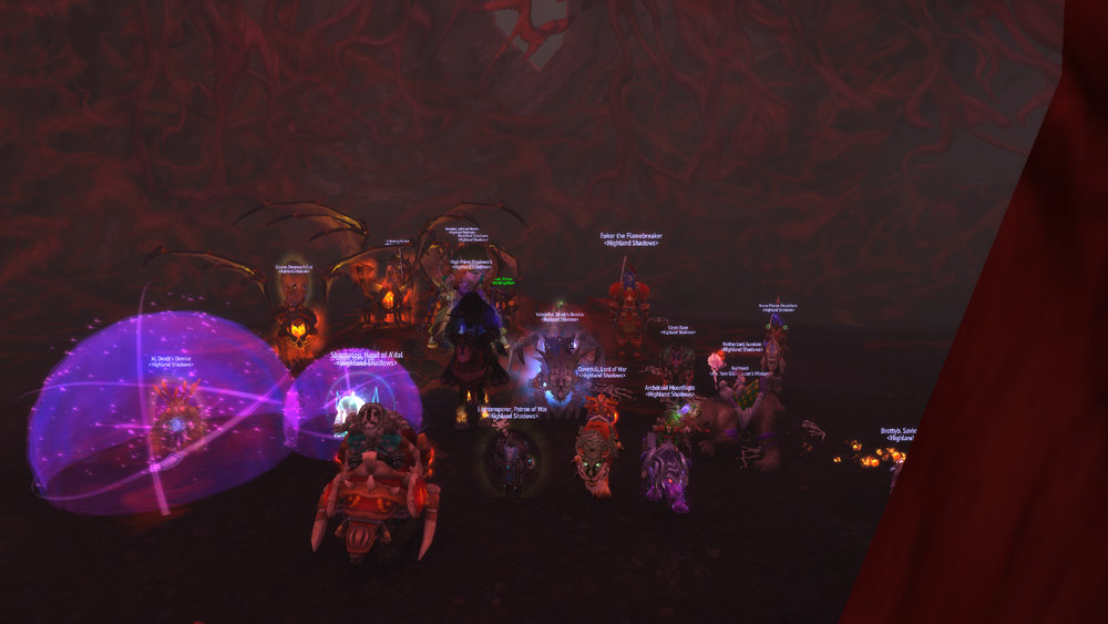 Mythic Eye of Il'gynoth Killed!