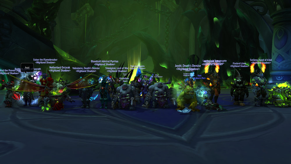 Heroic Desolate Host Killed!