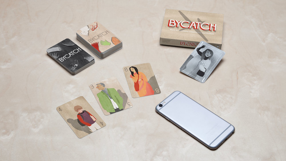 Bycatch: A Card Game About Drone Warfare