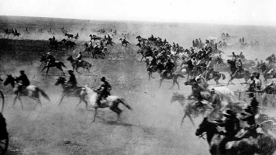 Oklahoma Land Rush 1889