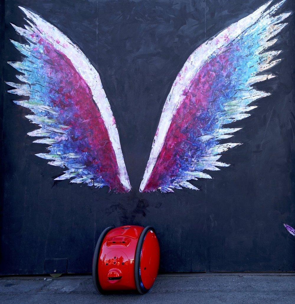 Gita with some LA Street Art