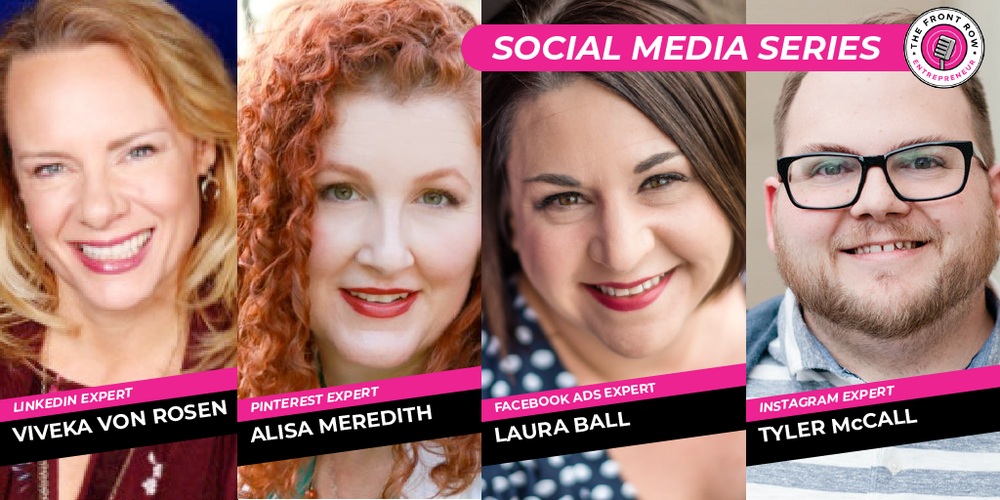 DON'T MISS THE REST OF THE SERIES!   Facebook with Laura Ball    Instagram with Tyler McCall    LinkedIn with Viveka Von Rosen    Pinterest with Alisa Meredith