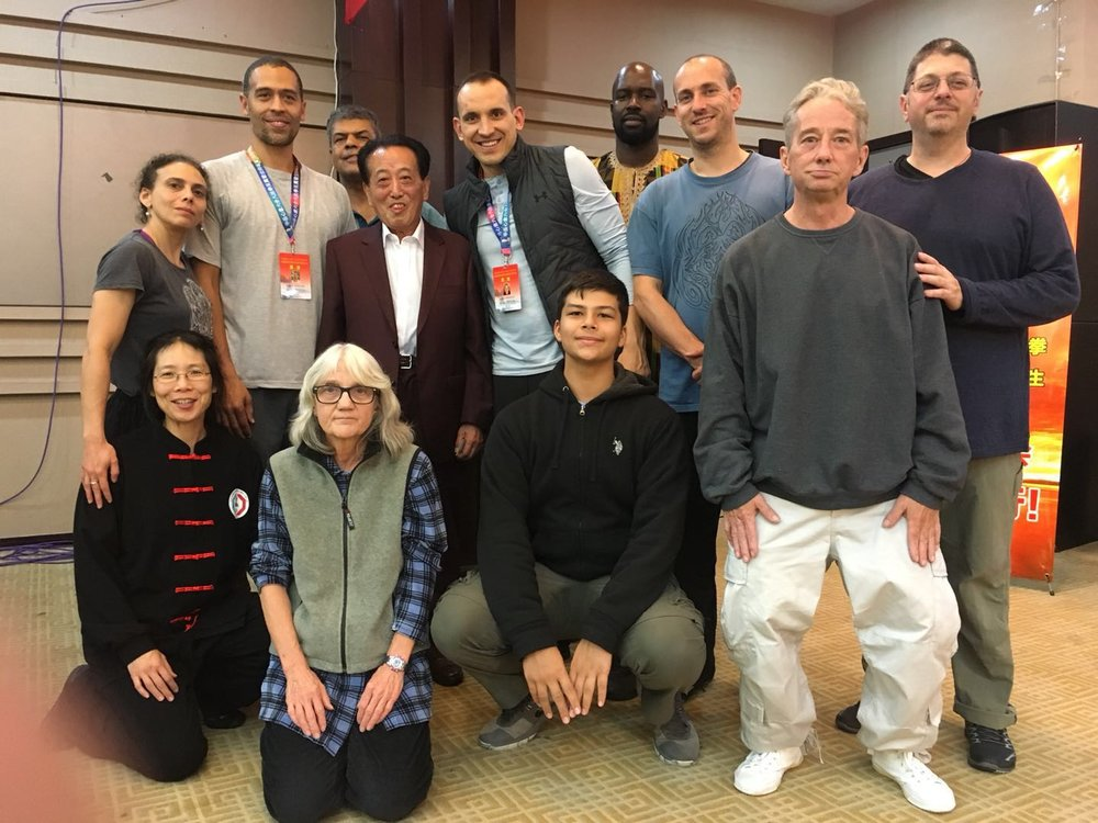 Conference Host- Master Wu and DC/MD Wudang longmen group