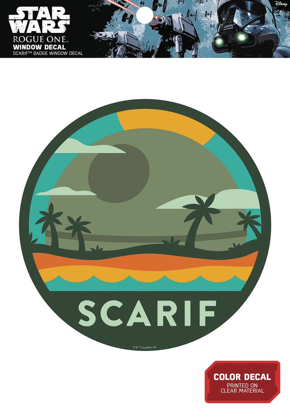 STAR WARS DEATH STAR OVER SCARIF BADGE WINDOW DECAL.jpg