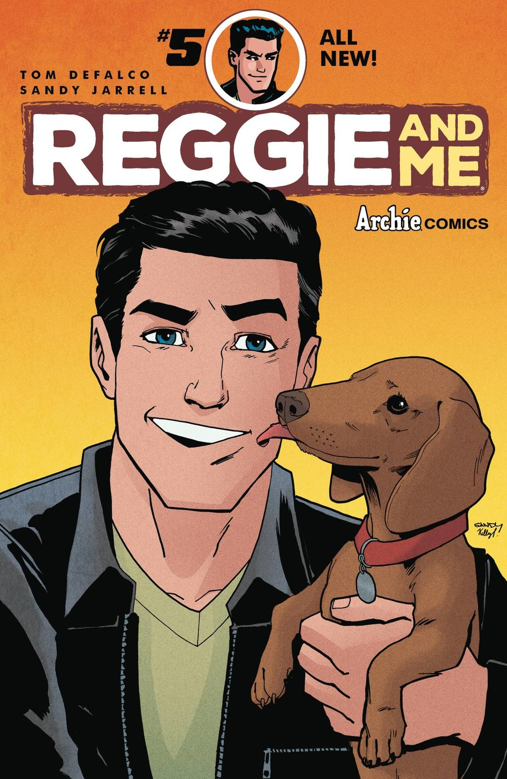 REGGIE AND ME 5 of 5 CVR A REG SANDY JARRELL.jpg