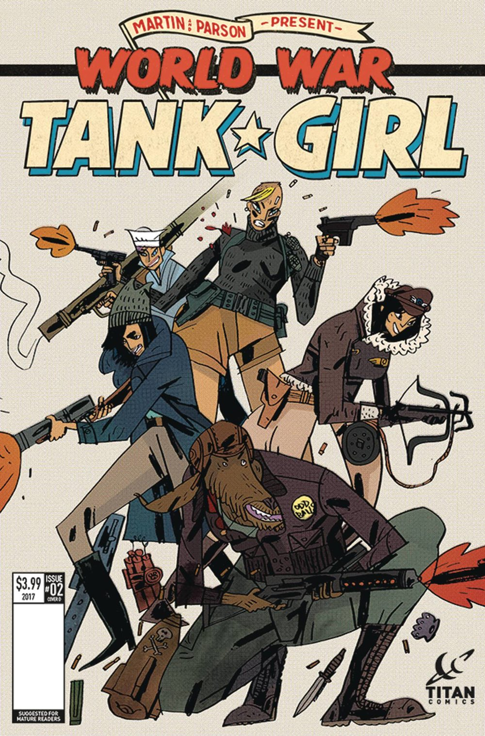 TANK GIRL WORLD WAR TANK GIRL 2 of 4 CVR D CADWELL.jpg