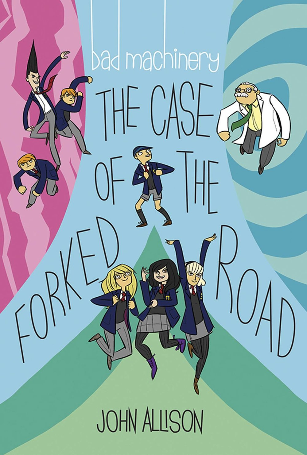 BAD MACHINERY GN 7 THE CASE OF THE FORKED ROAD.jpg