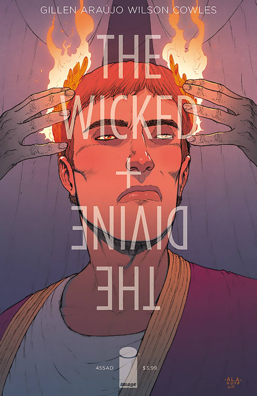 WICKED & DIVINE 455 AD 1 (ONE-SHOT) CVR B ARAUJO.jpg