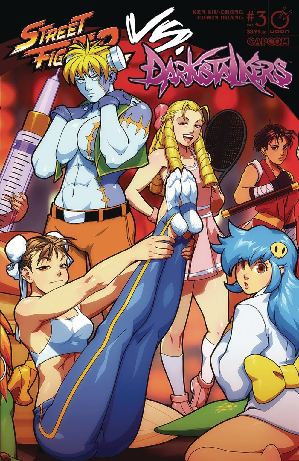 STREET FIGHTER VS DARKSTALKERS 3 of 8 CVR B PORTER.jpg