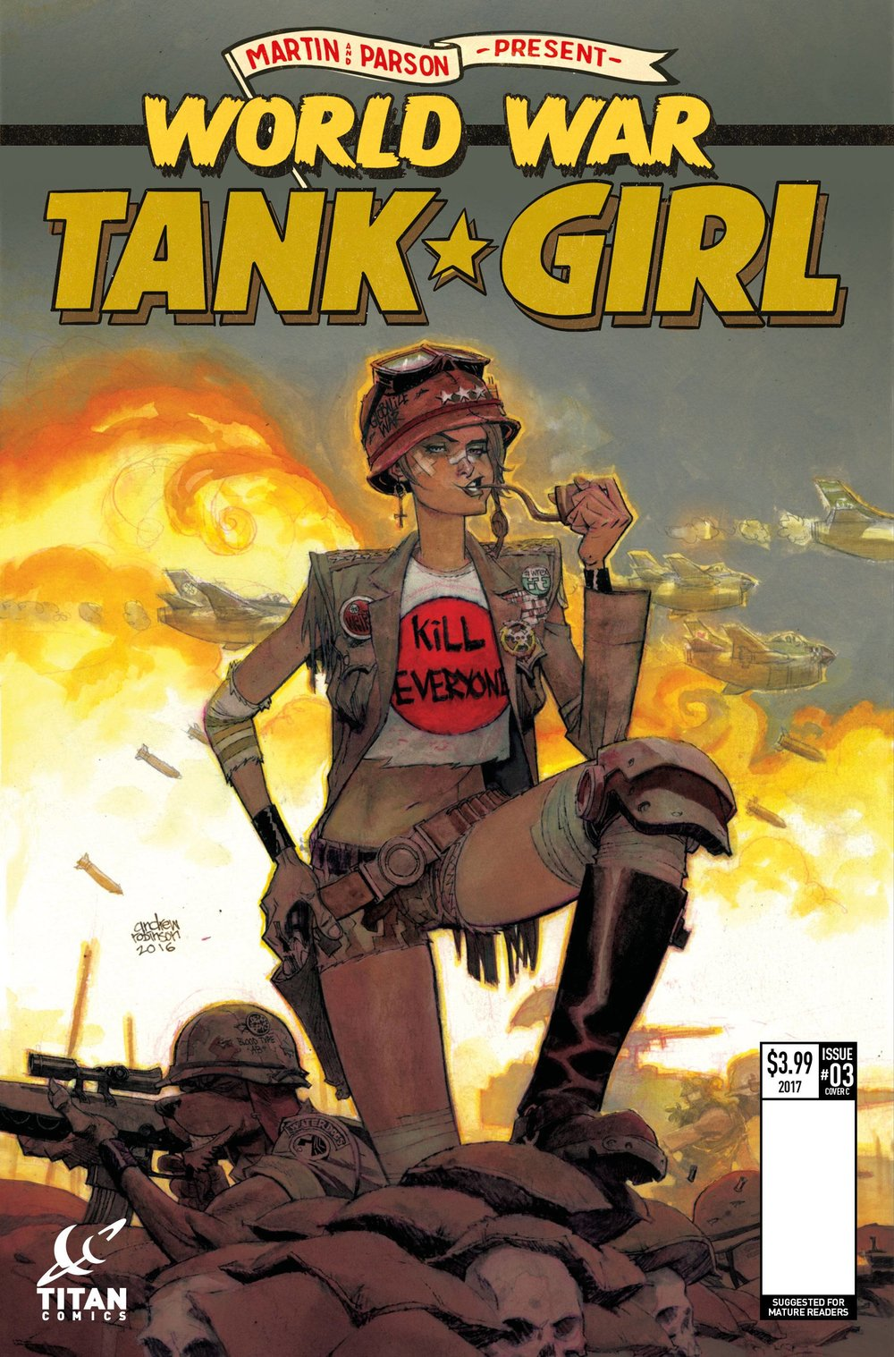 TANK GIRL WORLD WAR TANK GIRL 3 of 4 CVR C ROBINSON.jpg