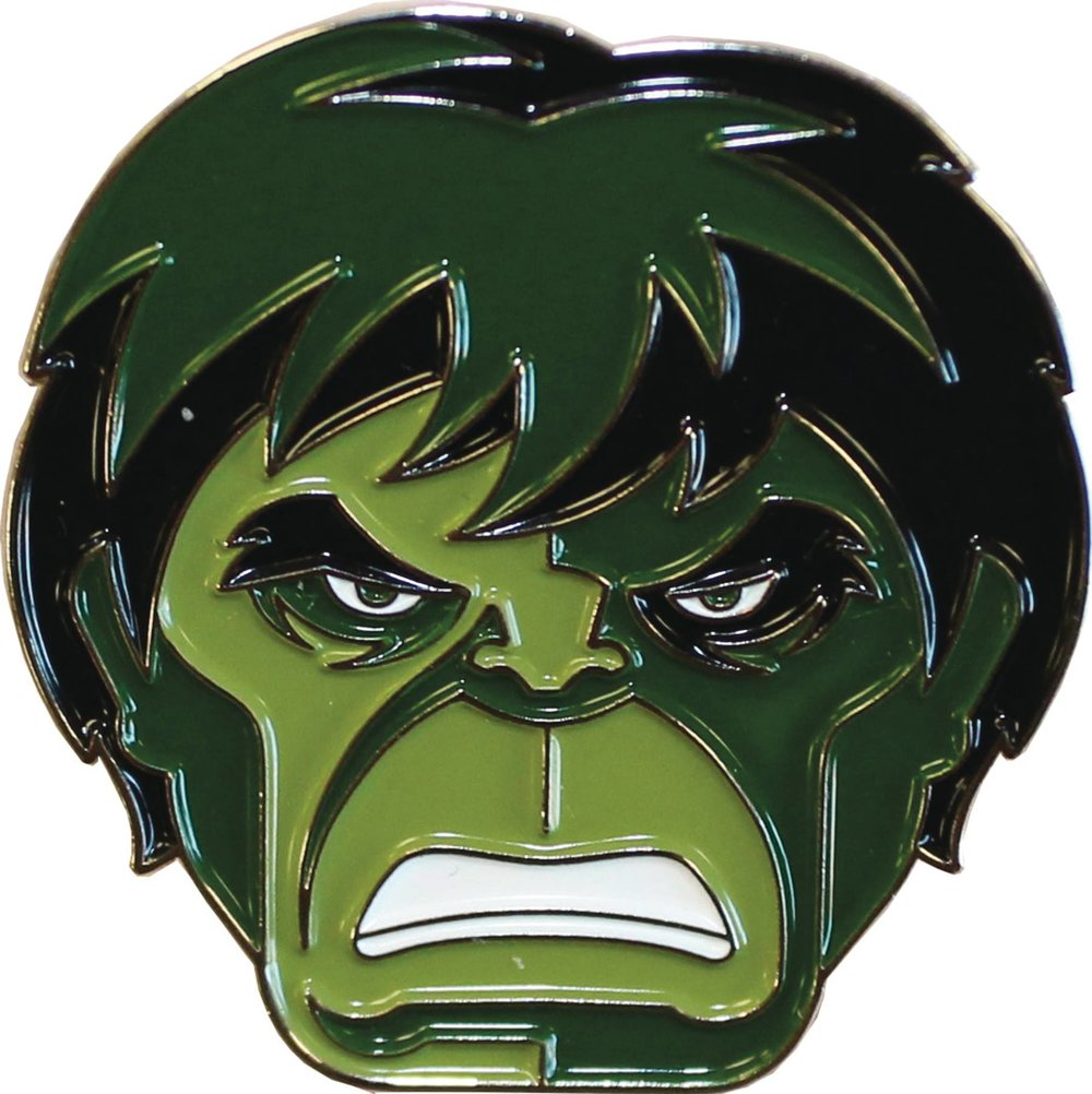 MONDO X MARVEL COMICS INCREDIBLE HULK ENAMEL PIN.jpg