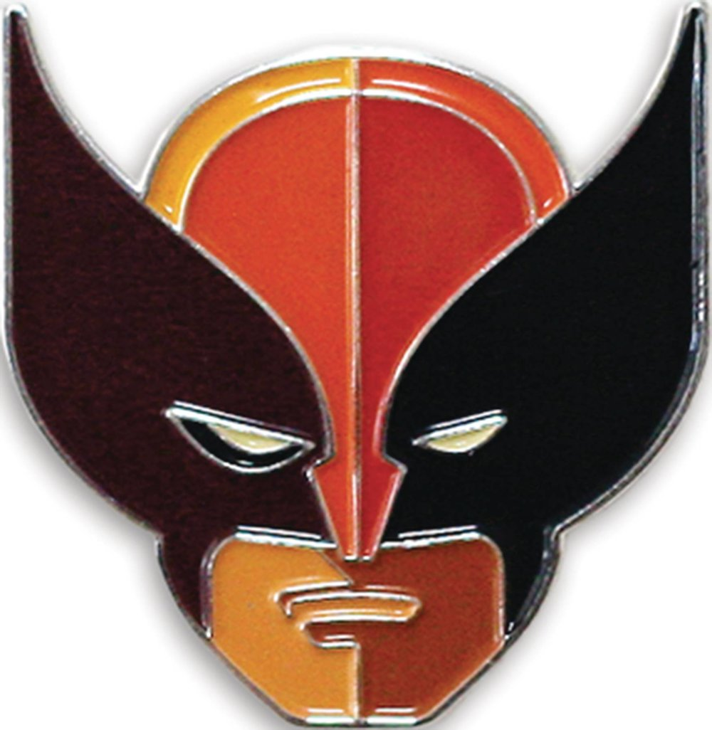 MONDO X MARVEL COMICS WOLVERINE (BROWN SUIT) ENAMEL PIN.jpg