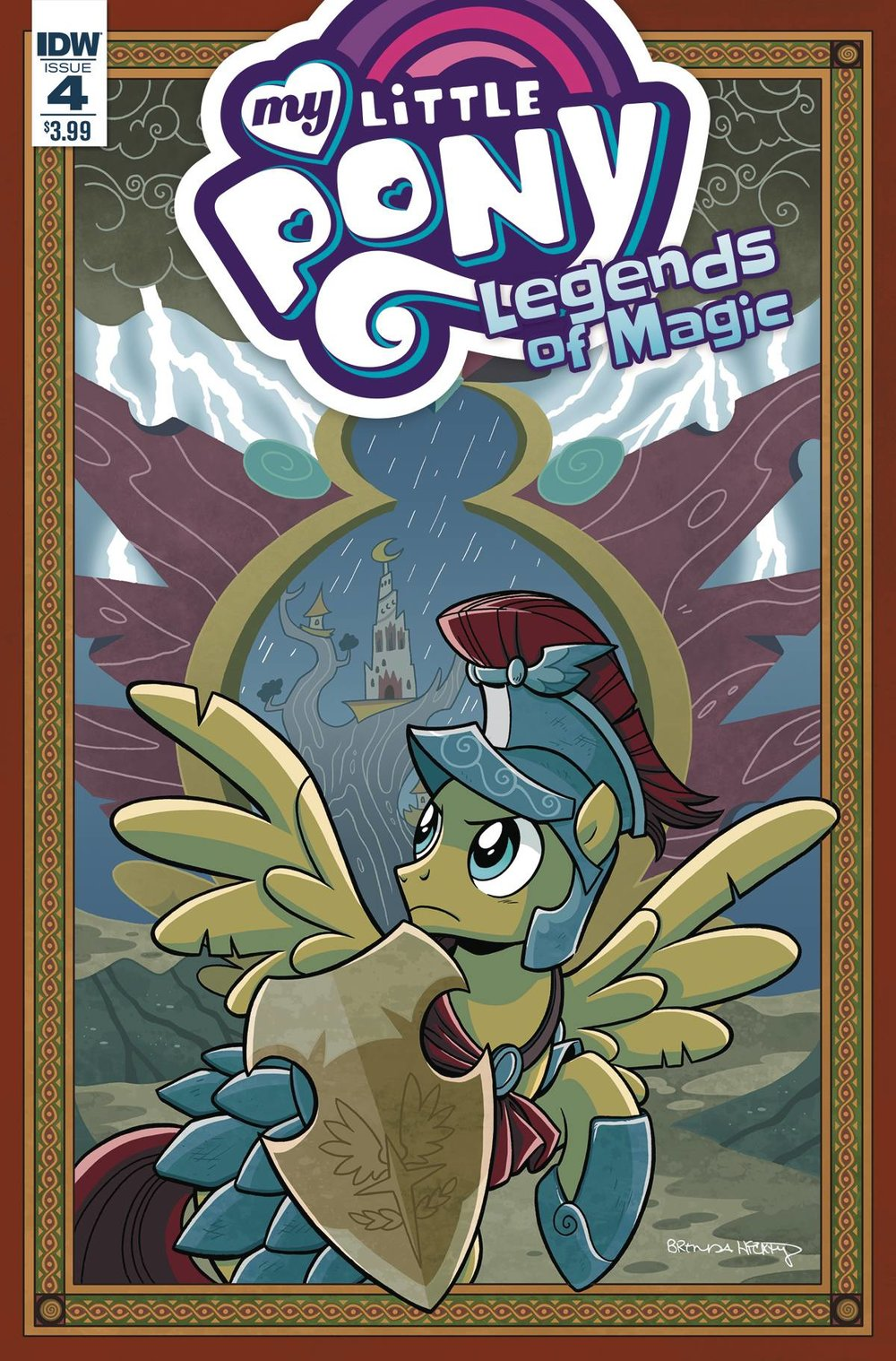 MY LITTLE PONY LEGENDS OF MAGIC 4 CVR A HICKEY.jpg