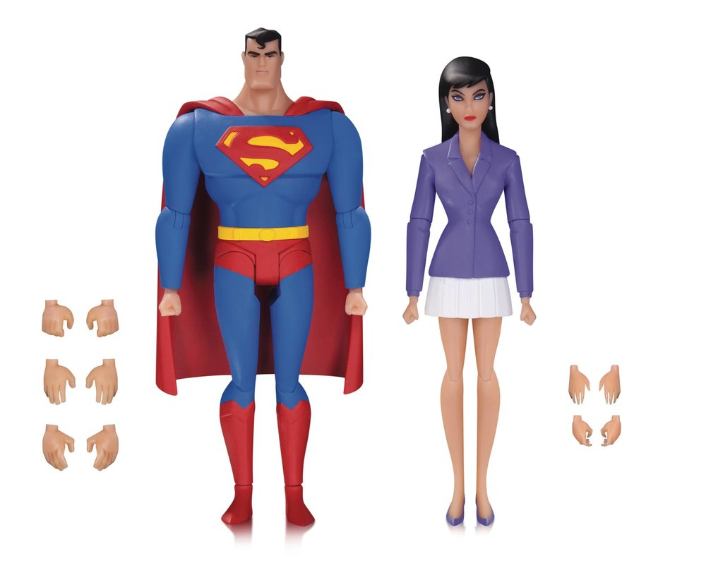 SUPERMAN ANIMATED SER SUPERMAN & LOIS LANE AF 2 PK.jpg