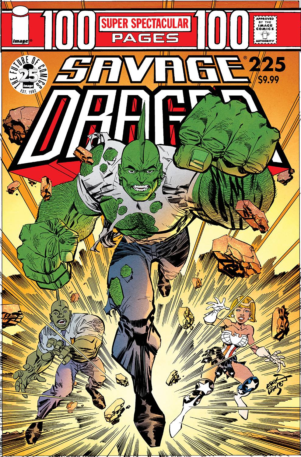 SAVAGE DRAGON 225 25TH ANNIVERSARY CVR A LARSEN.jpg