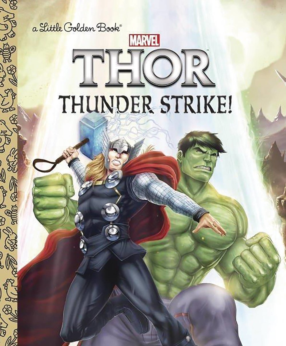 MIGHTY THOR LITTLE GOLDEN BOOK THUNDER STRIKE.jpg
