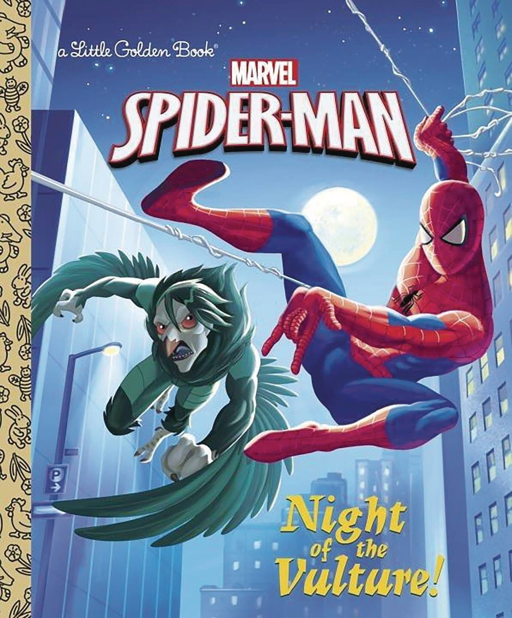 SPIDER MAN NIGHT OF VULTURE LITTLE GOLDEN BK.jpg