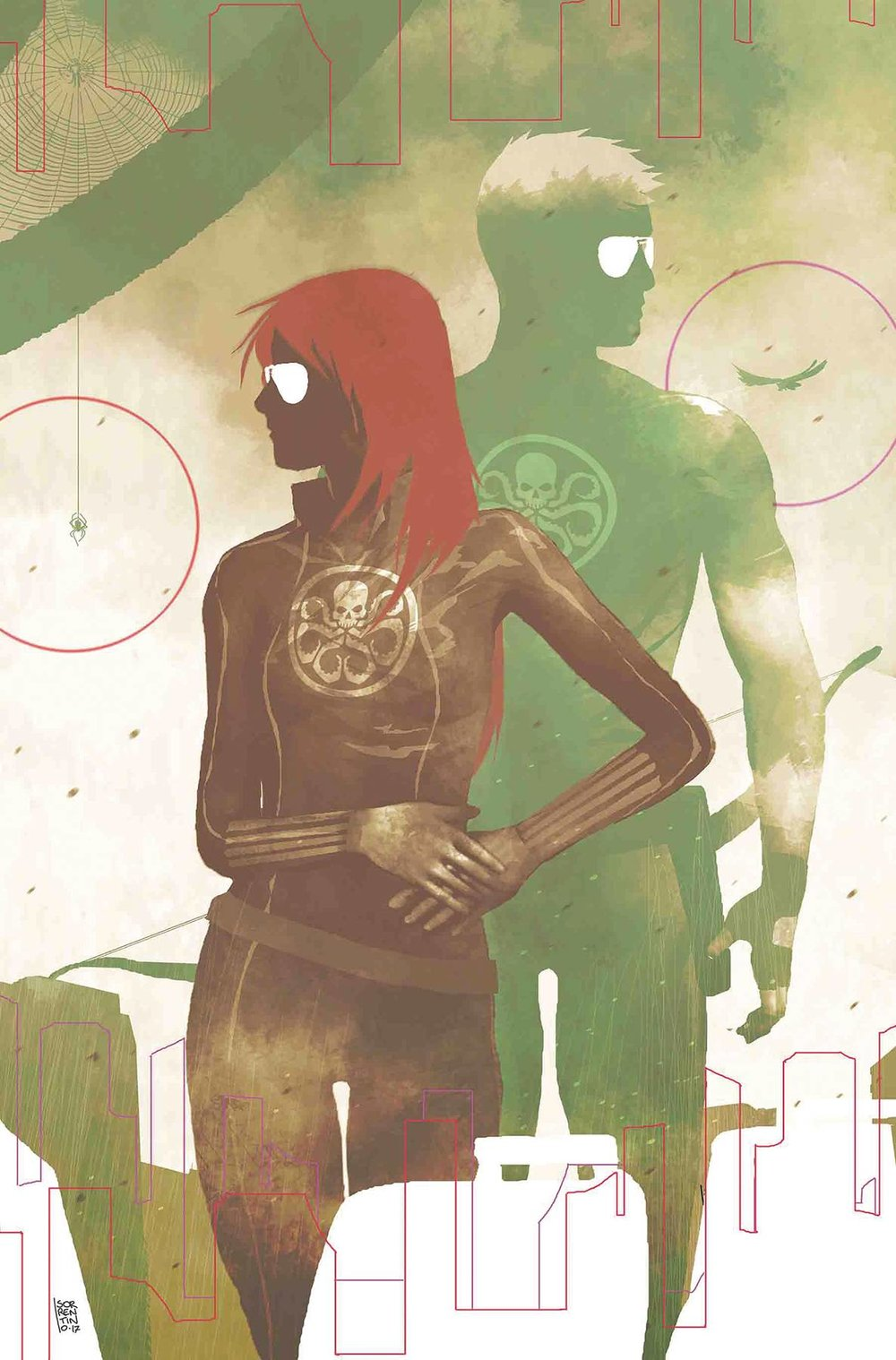 SECRET EMPIRE 9 of 10 SORRENTINO HYDRA HEROES VAR.jpg