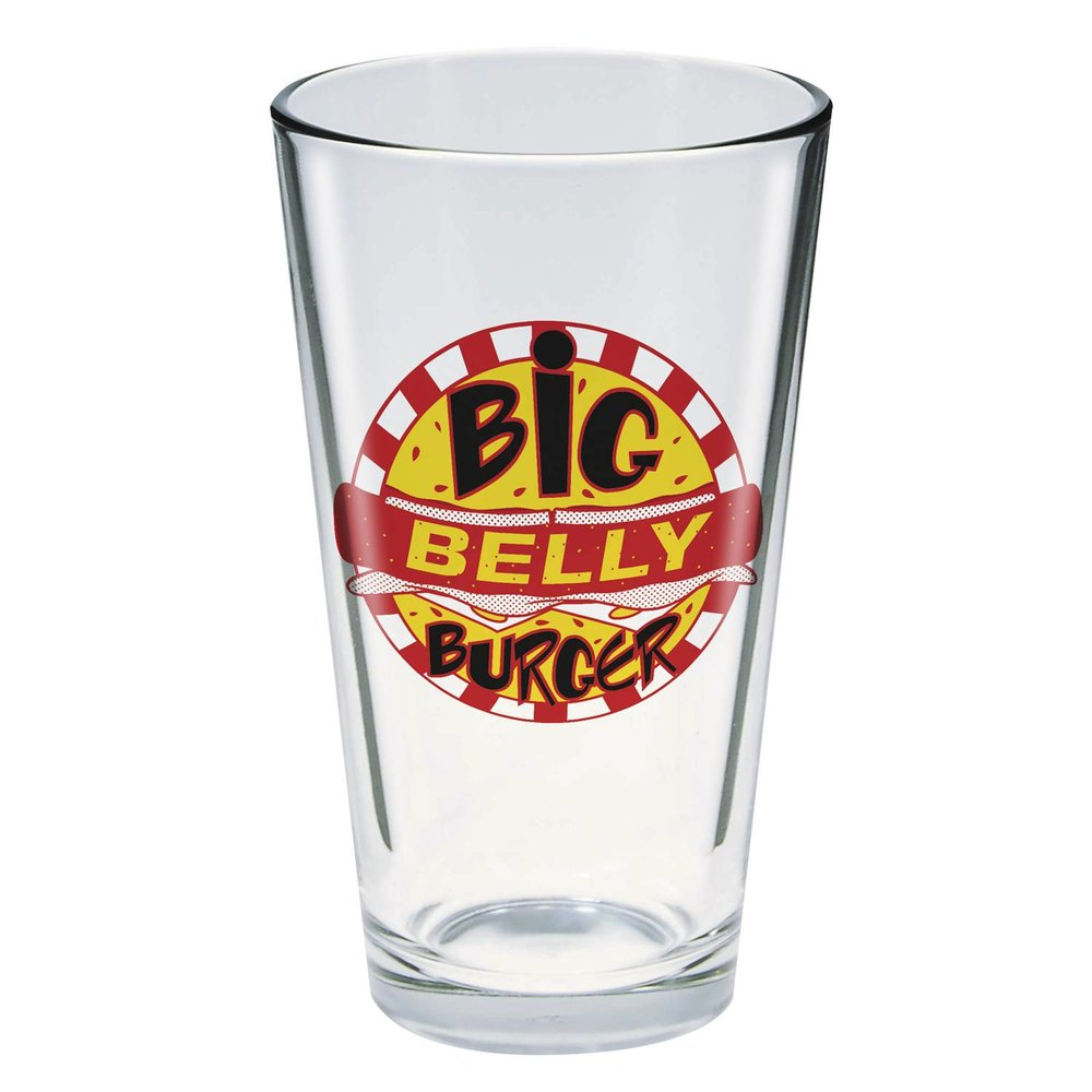 TOON TUMBLERS ARROW TV BIG BELLY BURGER GLASS.jpg