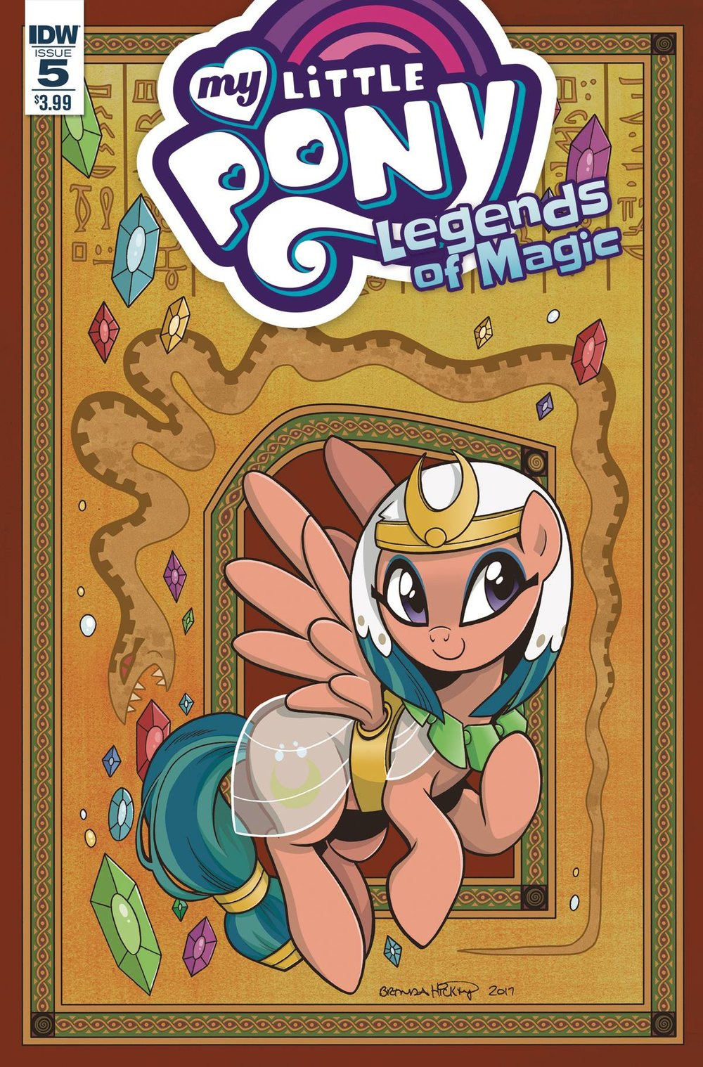 MY LITTLE PONY LEGENDS OF MAGIC 5 CVR A HICKEY.jpg
