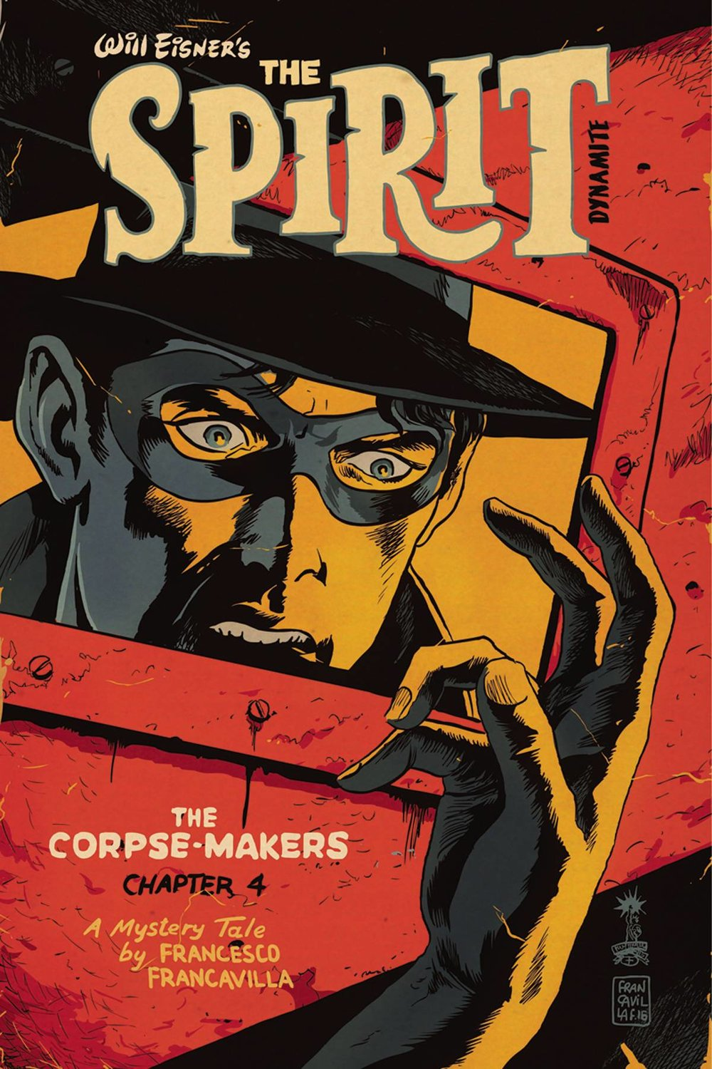 WILL EISNER SPIRIT CORPSE MAKERS 4 of 5 CVR A FRANCAVILLA.jpg