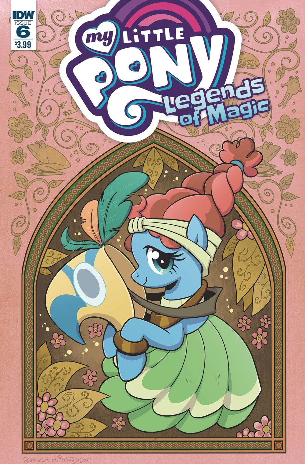 MY LITTLE PONY LEGENDS OF MAGIC 6 CVR A HICKEY.jpg