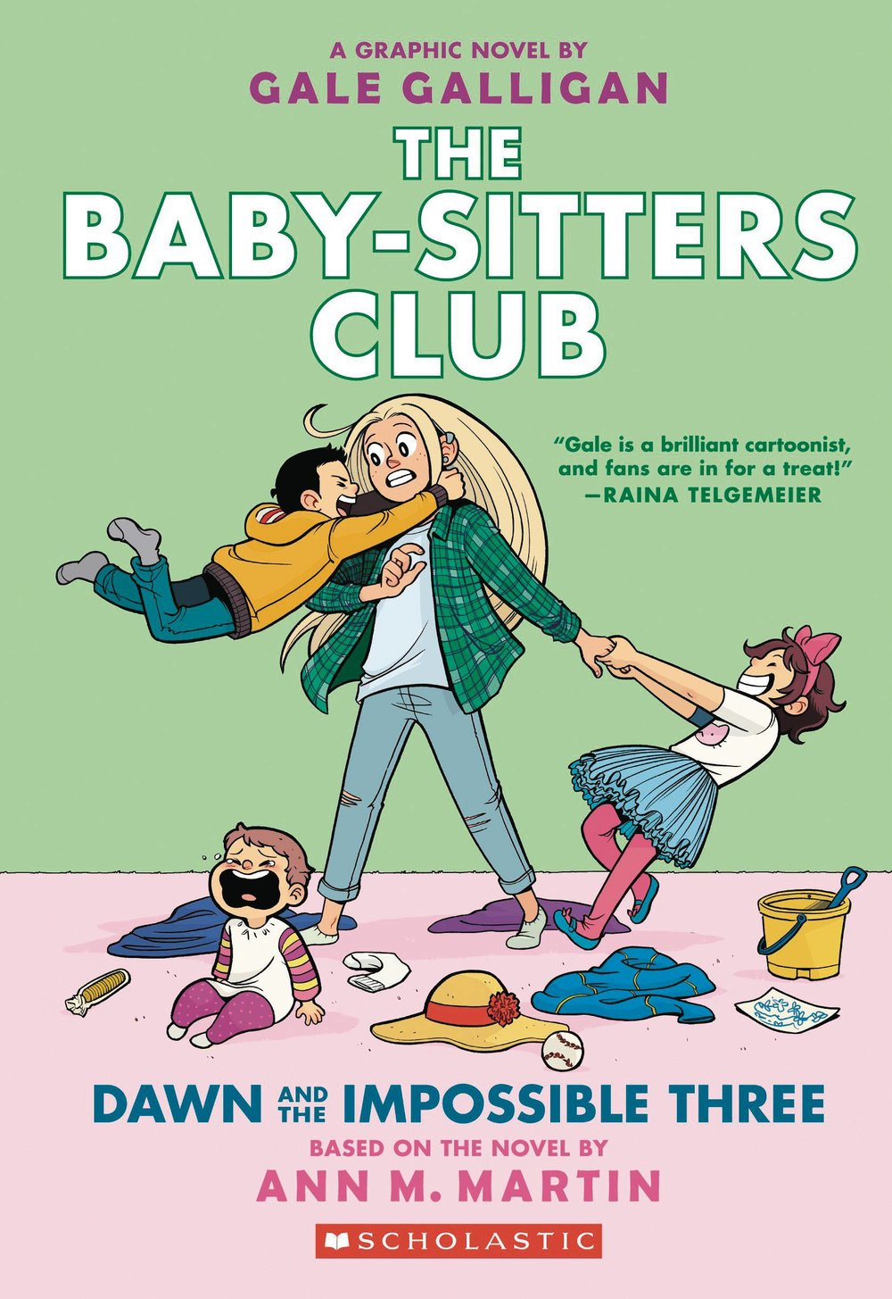 BABY SITTERS CLUB COLOR ED GN 5 DAWN IMPOSSIBLE 3.jpg
