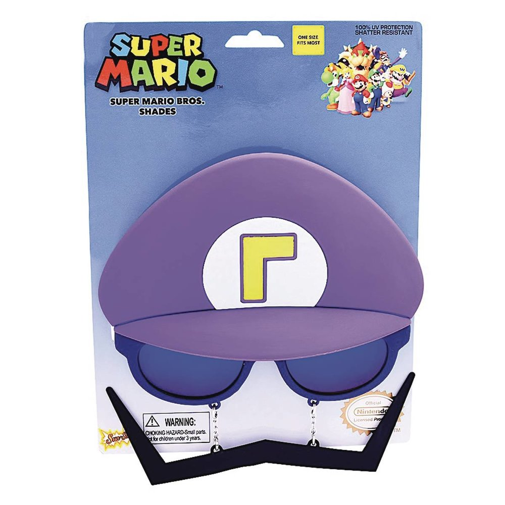 SUPER MARIO BROS WALUIGI SUNSTACHES SUNGLASSES.jpg