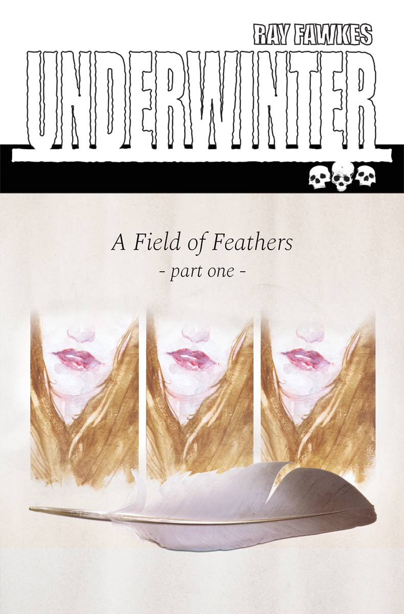 UNDERWINTER FIELD OF FEATHERS 1 CVR A FAWKES.jpg